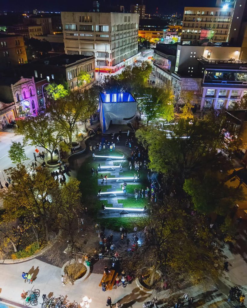 Nuit Blanche, Old Market Square, The Cube, Exchange District, Downtown