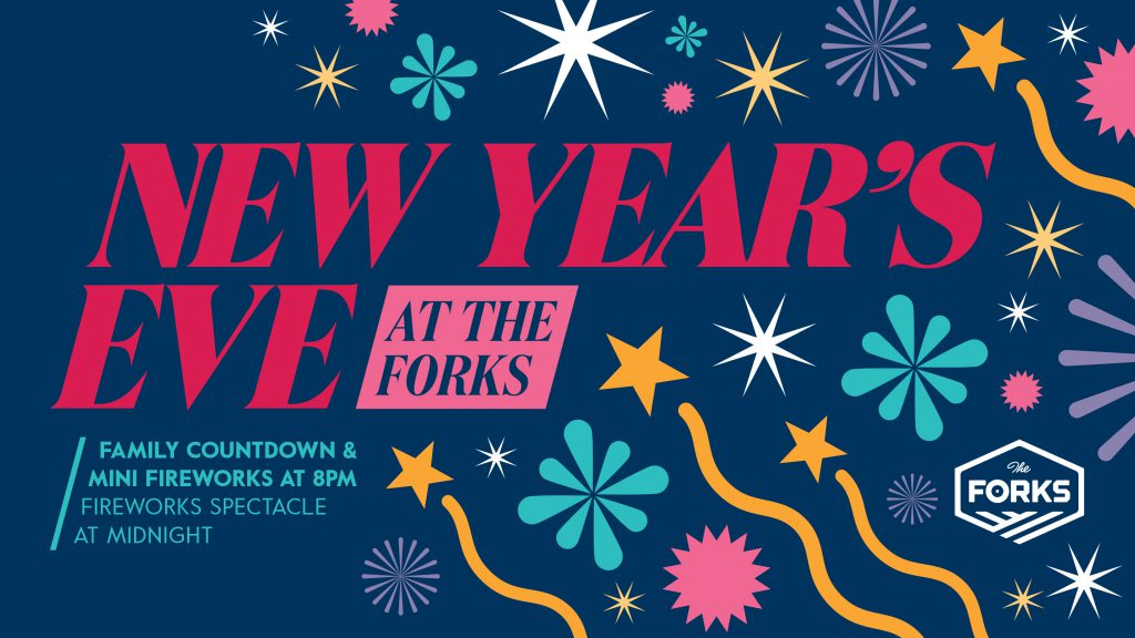 New Year's Eve at The Forks, Facmily Countdown, Downtown Winnipeg