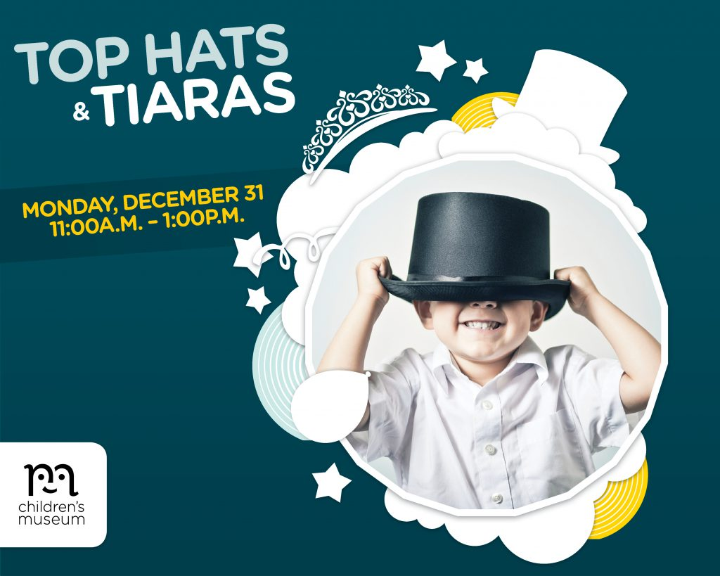 Top Hats & Tiaras event at The Forks, Children, All Family, Celebration, New Year's Eve, Kids, Downtown Winnipeg