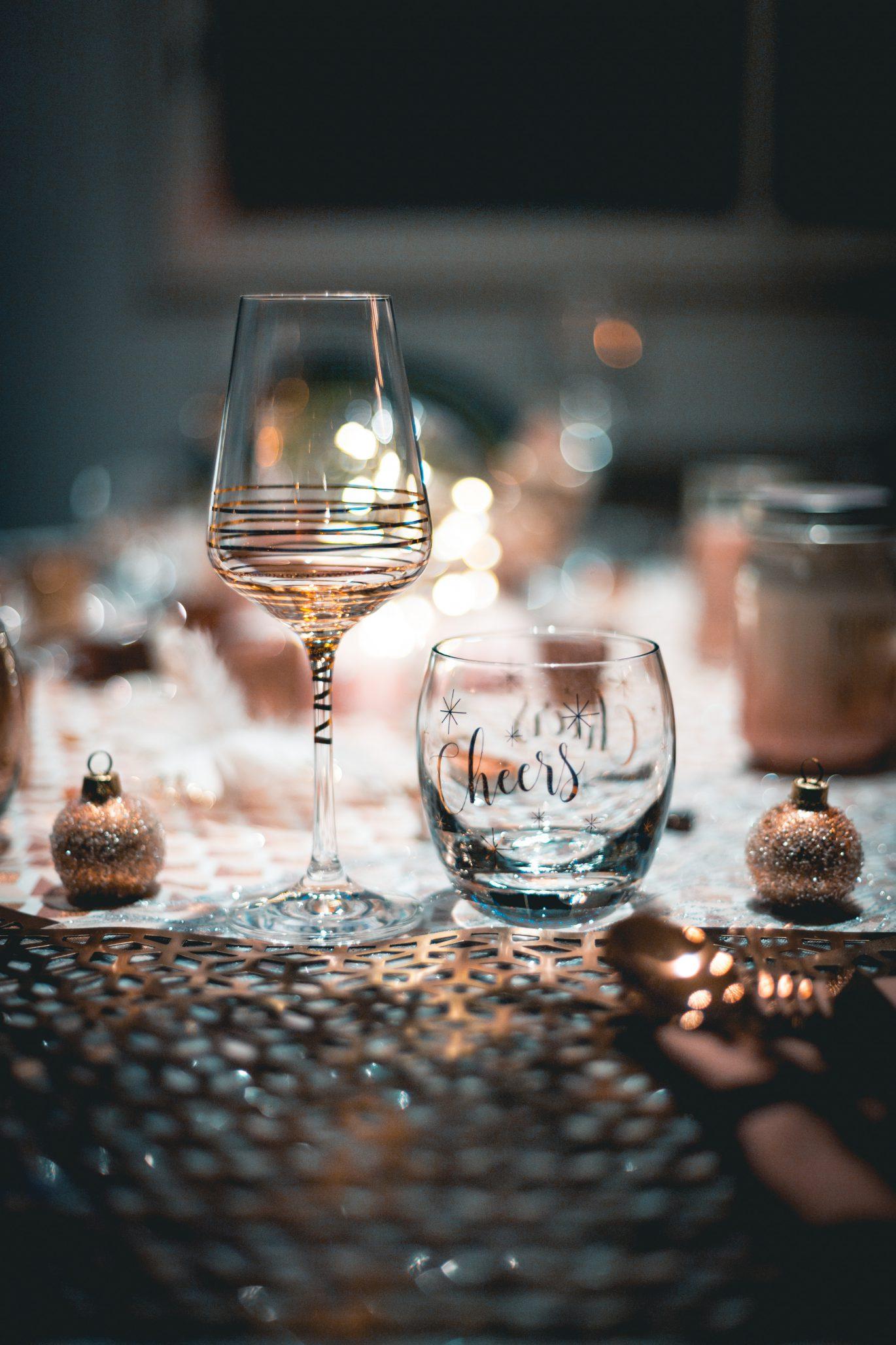 New Year, New Year's Eve, Christmas Dinner, Cheers, Wine Glass, Celebration, Festivity, Downtown Winnipeg