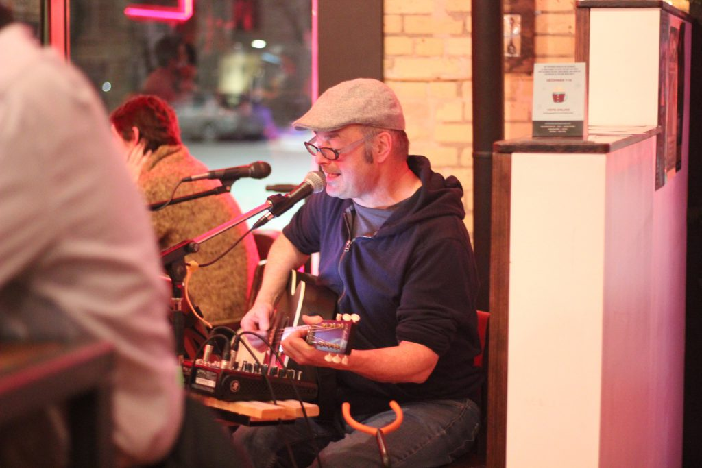 Derek McCandless, Live Music, Amsterdam Tea Room, Exchange District, First Fridays in the Exchange, Downtown Winnipeg