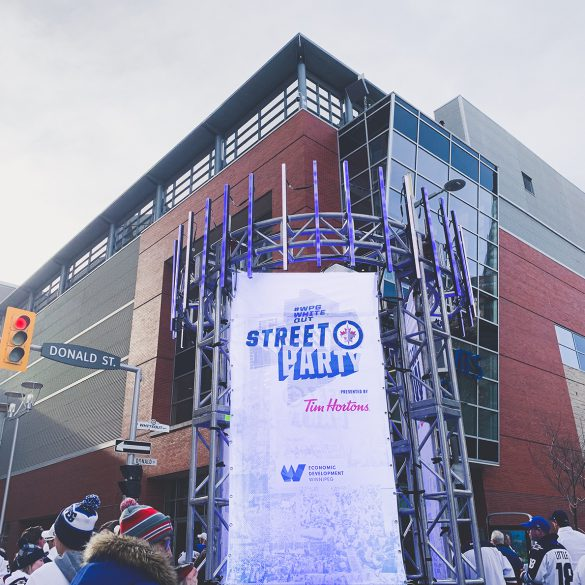 Stanley Cup, Winnipeg White Out Street Party, Downtown Winnipeg, Winnipeg Events, Go Jets Go, Winnipeg Jets, NHL Playoffs, Hockey Playoffs, Ice Hockey, Sports, Game Day, #WPGWhiteOut
