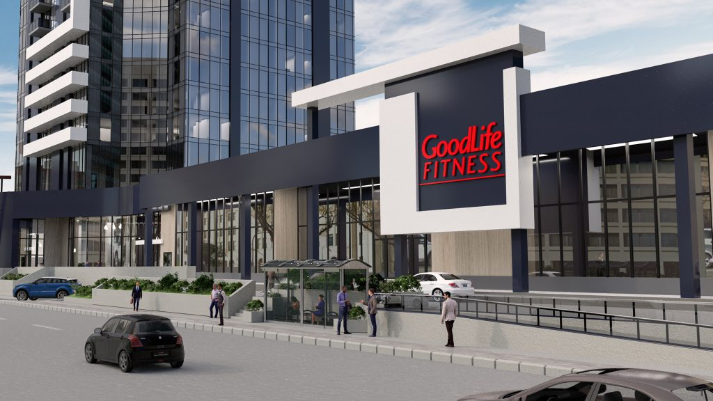 Goodlife Fitness at 300 Main Downtown Winnipeg Apartments