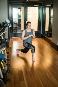 On-site Gym, Workout at 300 Main Downtown Winnipeg Apartments