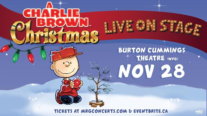 Charlie Brown Christmas Air Date 2019.A Charlie Brown Christmas Live On Stage Living At 300 Main