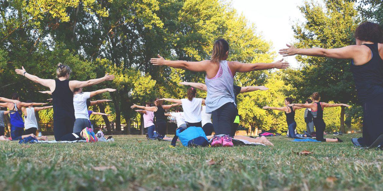 Downtown Winnipeg, Zen, Yoga in Downtown, Yoga in the park, Winnipeg yoga, 300 Main Downtown Winnipeg Apartment